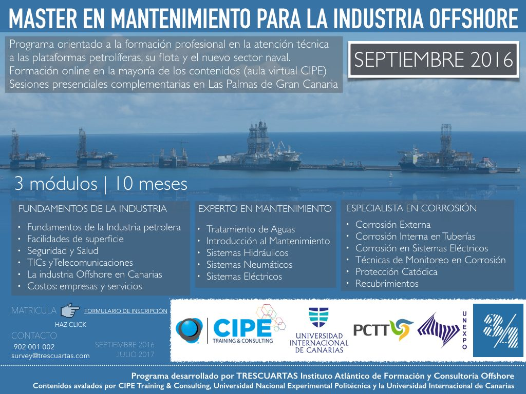 Master offshore naval